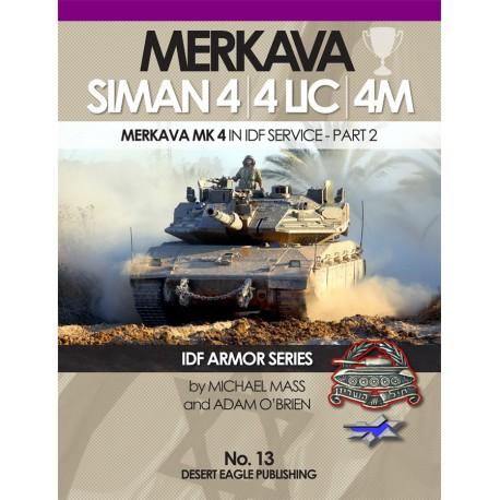 No.12 Merkava Siman 2 IDF ARMOR SERIES Desert Eagle Publishing   IDF 1//35