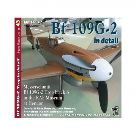 Bf 109G-2 in detail