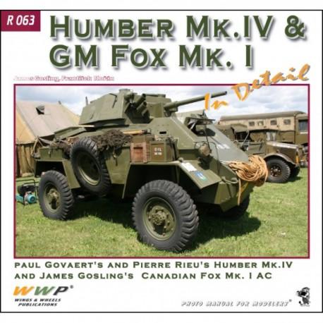 Humber Mk. IV & GM Fox Mk. I in detail