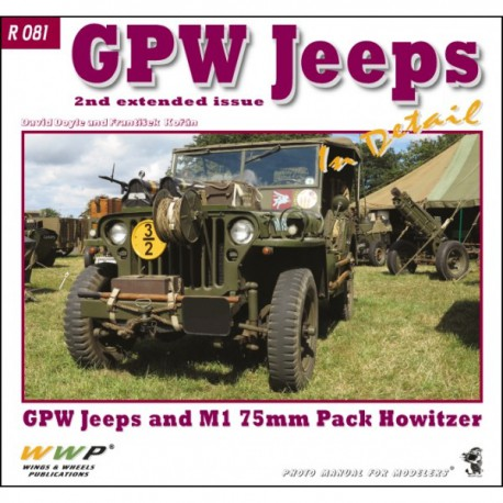 GPW Jeeps 2nd extended issue in detail
