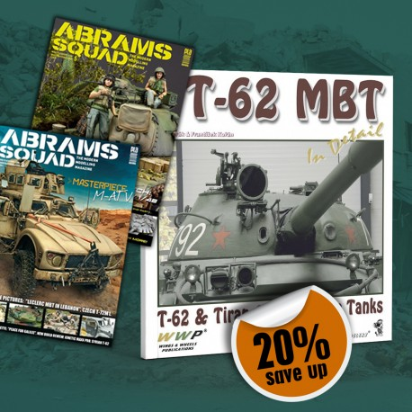 T-62 PACK: T-62 MBT in Detail, Abrams Squad 05 & Abrams Squad 08