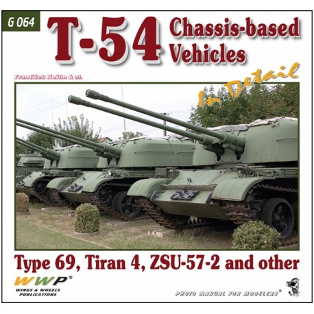 T-54 Chassis-based Vehicles in Detail