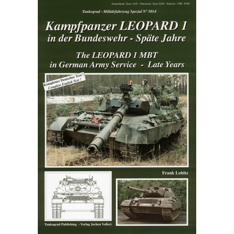 Leopard 1 MBT in German Army Service - Late years
