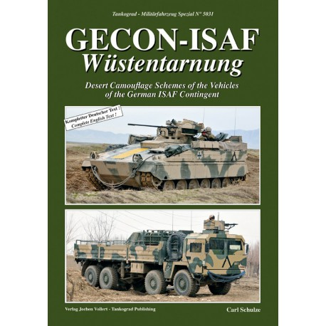 GECON-ISAF Wüstentarnung Desert Camouflage of the Vehicles of the German ISAF Contingent